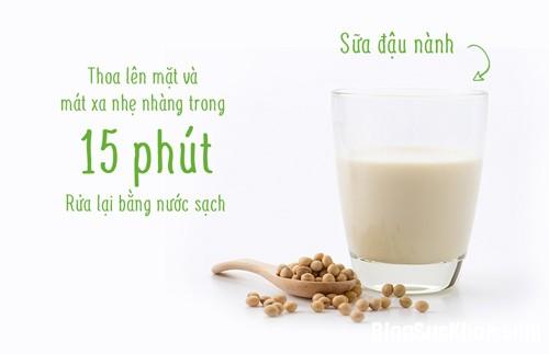 1359 3 công thức sở hữu làn da tươi trẻ, mịn màng với sữa đậu nành