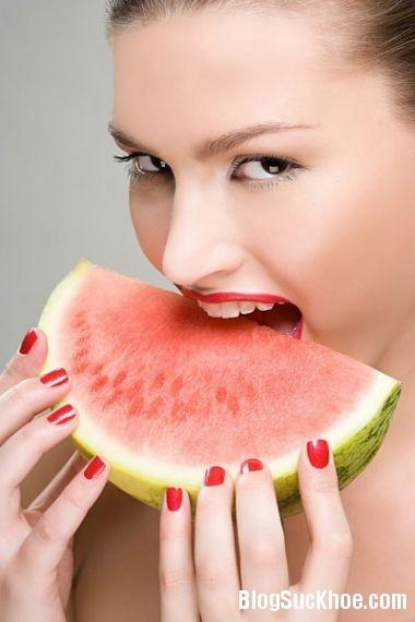 1282 Chú ý 4 không khi ăn dưa hấu