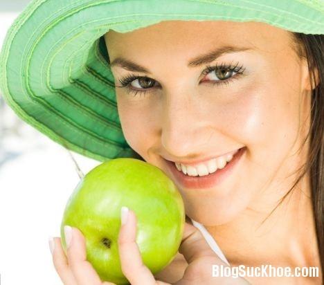 1231 Cách dùng táo và lê làm đẹp