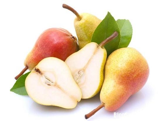 1232 Cách dùng táo và lê làm đẹp