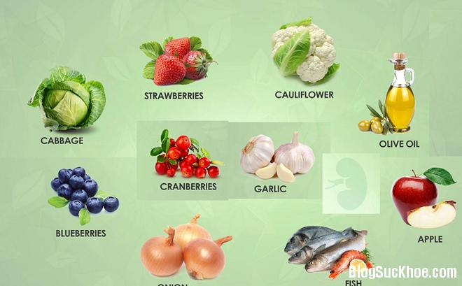111 Top các loại thực phẩm tốt cho sức khỏe của thận