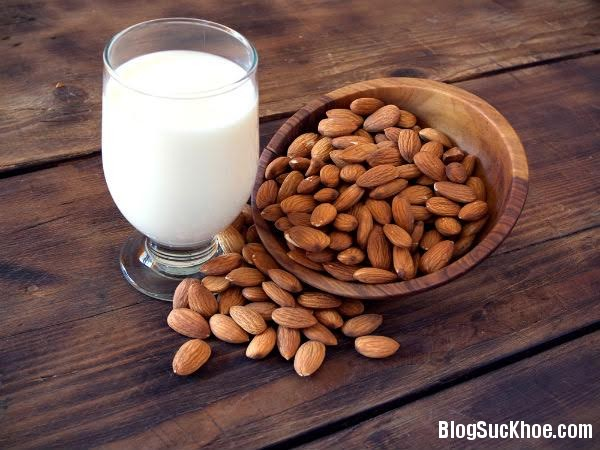 1158 Những lợi ích của sữa hạnh nhân đối với sức khỏe
