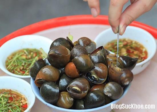 1305 Món ăn, bài thuốc bổ dưỡng từ ốc