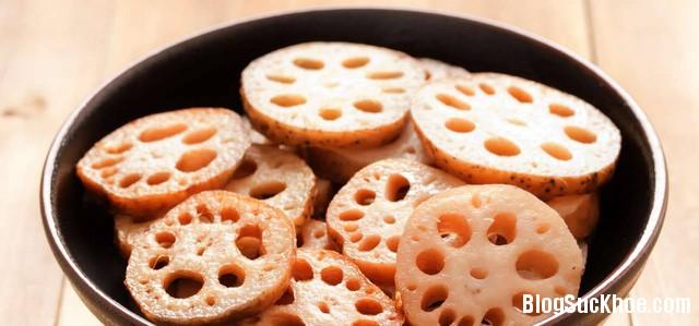 1 33 Món ăn bổ dưỡng không thể bỏ qua từ củ sen