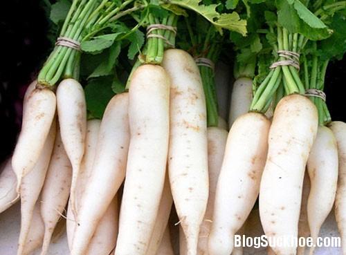 129 Những điều không được quên khi ăn củ cải