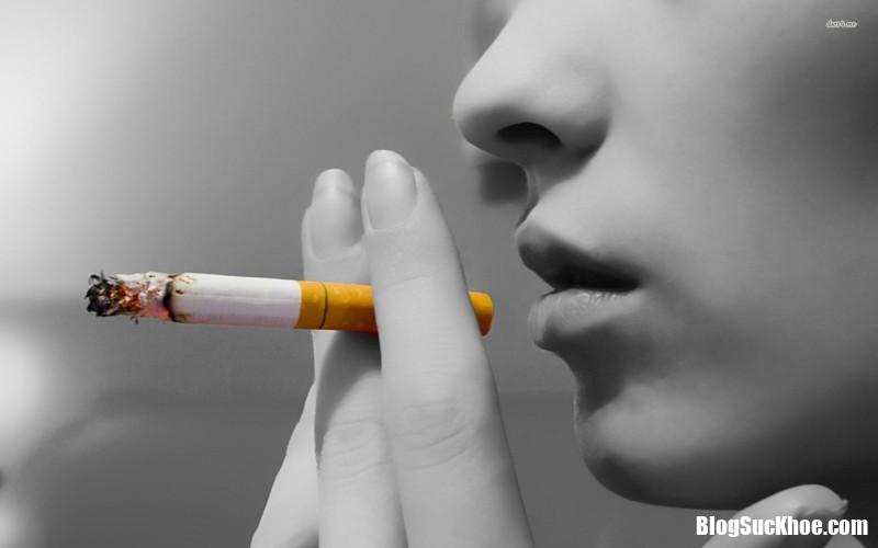 189283 Nguy cơ xuất huyết não ở phụ nữ do hút thuốc