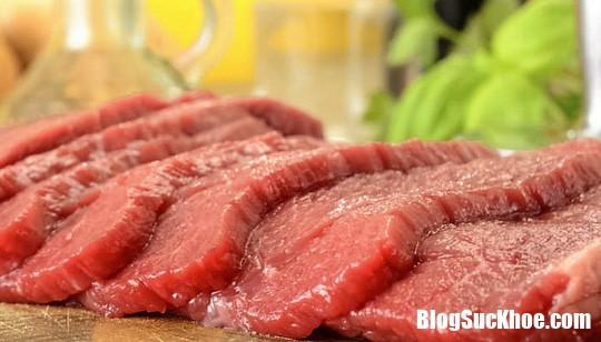 an nhieu thit do de bi benh than Nguy cơ mắc bệnh thận do ăn quá nhiều thịt đỏ