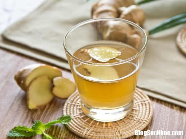 cao huyet ap 4 Nước uống từ gừng đánh bay chứng cao huyết áp