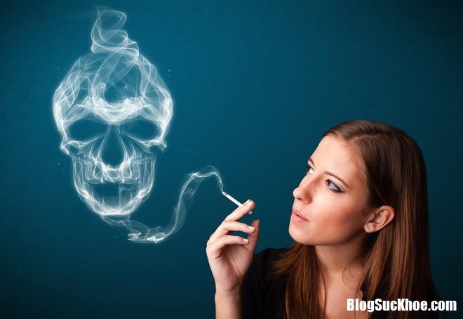 khói thuốc lá Những thói quen của cánh đàn ông lại dễ khiến chị em bị ung thư vú