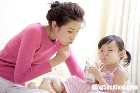 sua Trẻ nhỏ bị đau bụng khi uống sữa tươi, nguyên nhân do đâu ?