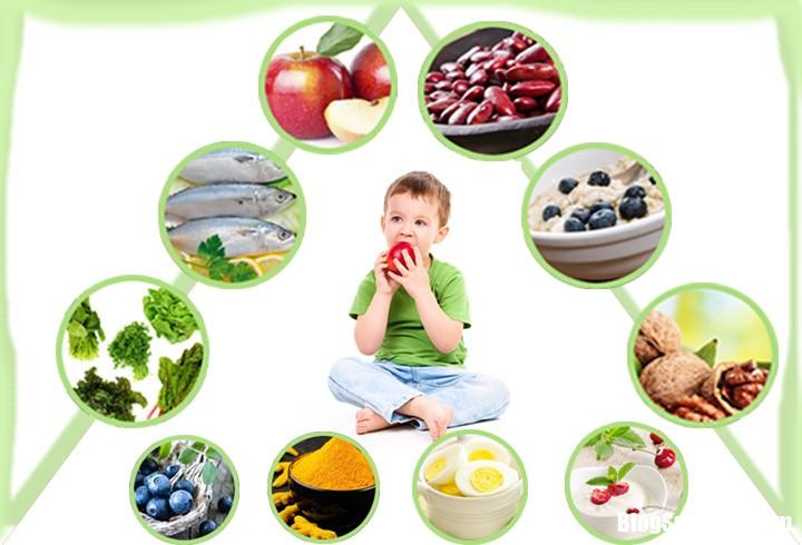 ahtj Mẹ nên tăng cường bổ sung cho bé những thực phẩm tốt cho não này nhé