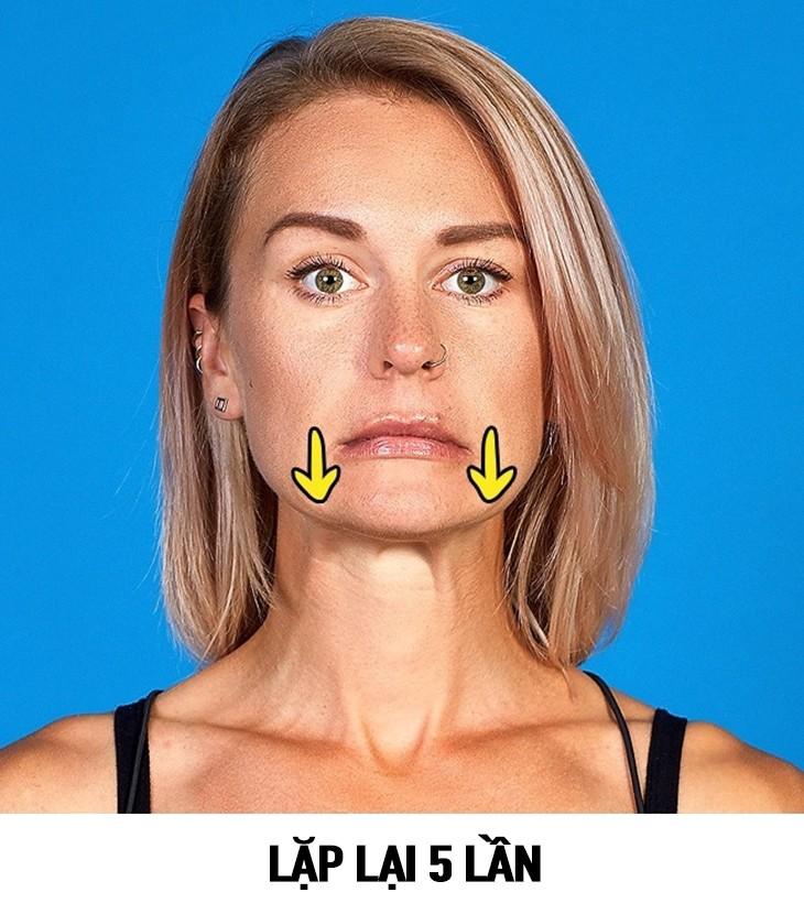 tap the duc 4 9 bài tập thể dục giúp khuôn mặt thon gọn và thanh thoát hơn