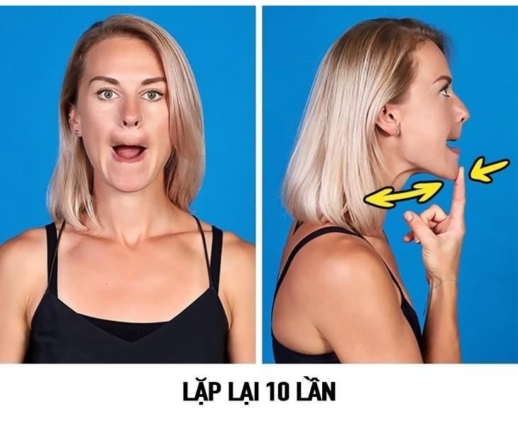 tap the duc 8 9 bài tập thể dục giúp khuôn mặt thon gọn và thanh thoát hơn